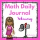 Kindergarten - Special Education -Winter Daily Math Journa