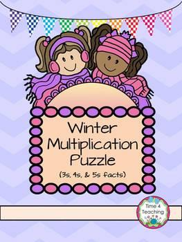 Winter Multiplication Puzzle