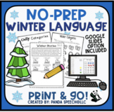 Winter NO PREP Language Pack