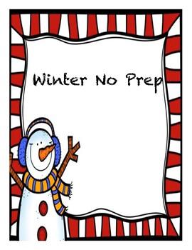 Winter No Prep