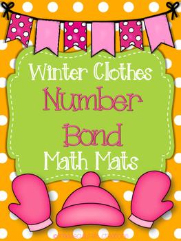 Winter Number Bond Math Mats