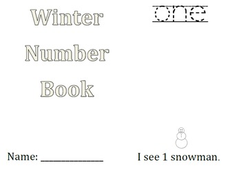 Winter Number Book
