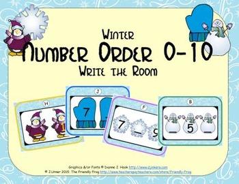 Winter Number Order 0-10
