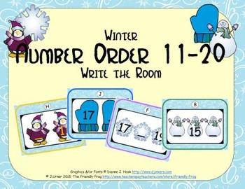 Winter Number Order 11-20
