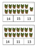 Winter Numbers 11-20 Clip Cards