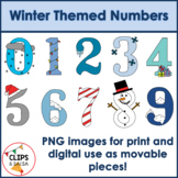 Winter Themed Numbers