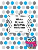 Winter Olympic Histogram Worksheet