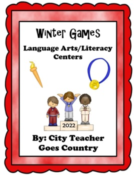 Winter Olympic Language Arts and Literacy Centers - 4 Cent