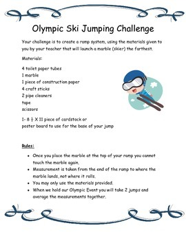 Winter Olympics- Hands-On Activities that Bring the Events