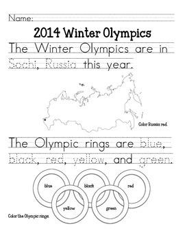 Winter Olympics: Primary
