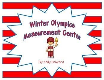 Winter Olympics Math Center