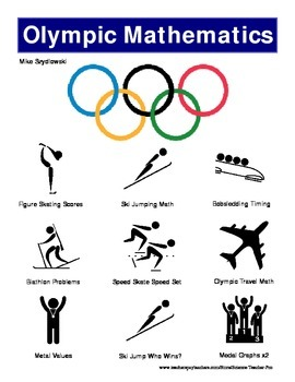 Winter Olympics Math Set