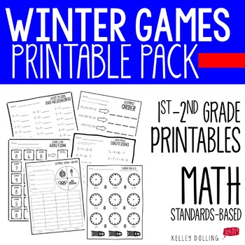Winter Olympics - Printables Packet