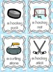 Winter Olympics Vocabulary Cards and Activity Package