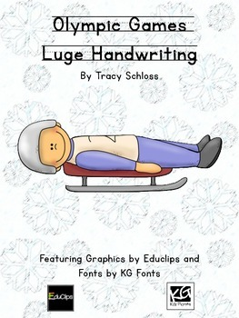 Winter Olympics, Winter Olympic Games, Luge Handwritng