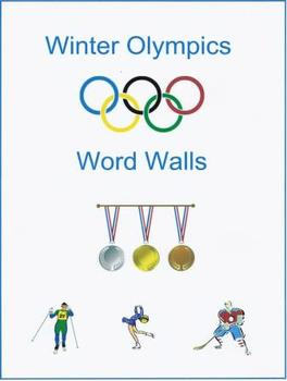 Winter Olympics Word Walls