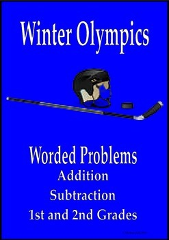 Winter Olympics math addition and subtraction worded probl