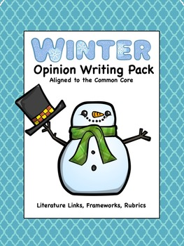 Winter Opinion Writing Pack