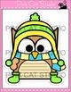 Winter Activities - Owls Writing Activity and Bulletin Boa