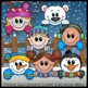 Winter Page Toppers Clip Art