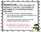 Winter Personification Mini-Lesson and Literacy Center Gra