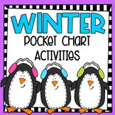 Winter Pocket Chart Math Activities