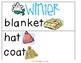 Winter Pocket Chart Theme Words
