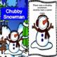 Winter Christmas season Poem Chubby Snowman Interactive Poem