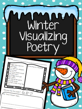 Winter Poems: Visualizing No-Prep Worksheets