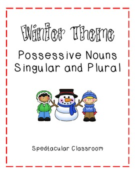 Winter Possessive Singlar and Plural Nouns
