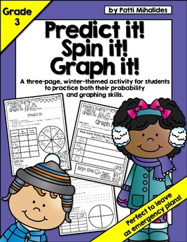 Winter: Predict it! Spin it! Graph it! Graphing & Probabil