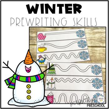 Winter Prewriting Skills {Dollar Deal}