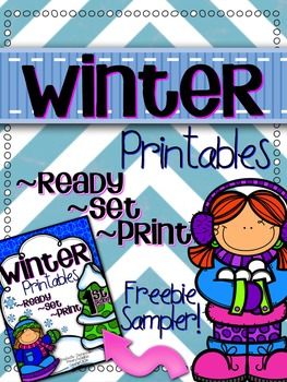 Winter Printables Freebie!