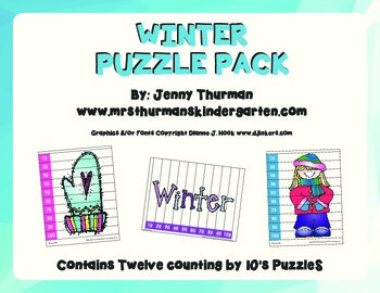 Winter Puzzle Pack