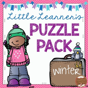 Winter Puzzles for Little Learners