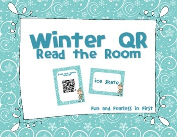 Winter QR Code - Read the Room