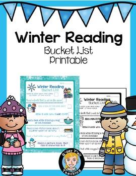Winter Reading Activities- No Prep Printables