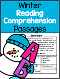 Winter Reading Comprehension Passages