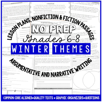 Winter Reading and Writing Activities For Big Kids – Commo