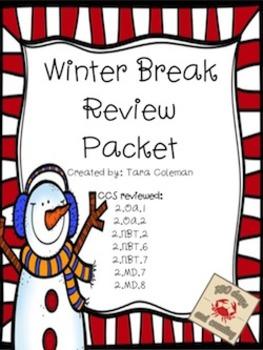 Winter Review Packet Freebie
