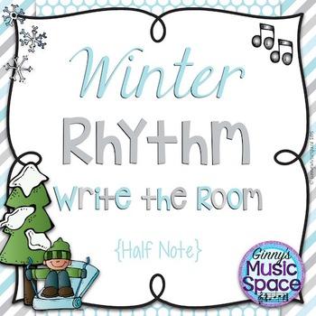 Winter Rhythm Write the Room {Half Note}