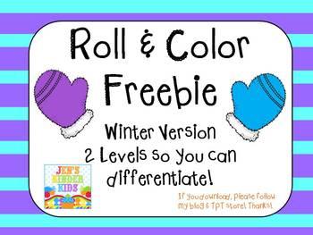 Winter Roll & Color *FREEBIE*
