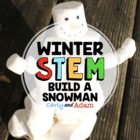 Winter STEM: Build a Snowman