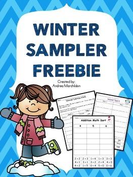 Winter Sampler Freebie