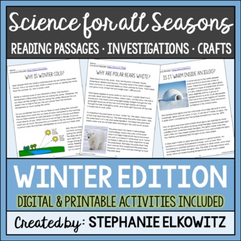 Winter Science Articles and Activities