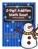Winter Scoot:  2-Digit Addition (without regrouping)