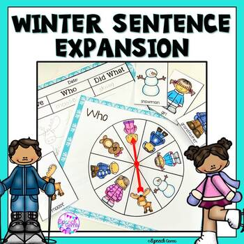 Winter Sentence Expansion Spinners