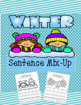 Winter Sentence Mix-Up