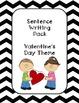 Winter Sentence Writing Bundle