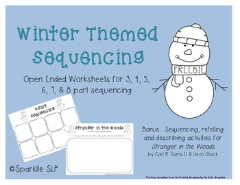Winter Sequencing {Freebie}